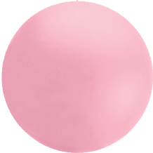 Giant Cloudbuster Balloon - 5.5ft Shell Pink